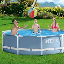 Intex Prisma Frame Pools Piscina desmontable redonda de 305x76 cm a 549x122 cm