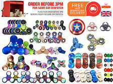 FIDGET SPINNER Finger Hand SPINNER EDC Steel Bearing Gift Toys Relieve Stress 3D