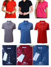 LACOSTE WOMENS POLO SHIRT PF269E - AUTHENTIC - BNWT - RRP £89