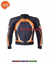Mens motogp racing jacket with armours perforated leather racing leather jacket