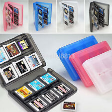 Useful 28 in 1 Game Card Case Holder Cartridge Storage Box for 3DS DSi DSXL NDSL