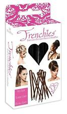 Frenchies Ultra Flocked Extra Soft French Twist Hair Pins - 20 Count