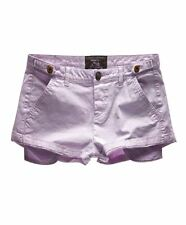 New Womens Superdry International Sweetchino Short Lavender