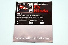 FULLINGMILL SHORT SHANK SPECIAL SINGLE TROUT FISHING FLY HOOKS CODE 31510