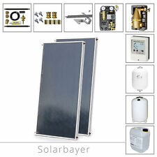 Solarbayer Solar package SilverSun, system, complete package, Solarthermie