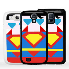 Cover Custodia rigida Supereroe SUPERMAN per Samsung Galaxy A J S Edge Note Mini