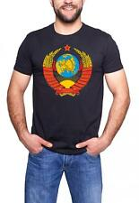 CCCPCoat of Arms Russian Soviet Union USSR 100% Cotton T-Shirt