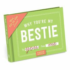 Knock Knock Why You're My Bestie Fill in the Love Journal