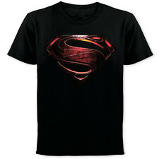 Superman Man of Steel T-Shirt Logo Superman