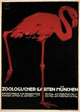 Vintage Tedesca Poster Advertising The Zoo VEP079 Stampa D'arte A4 A3 A2 A1