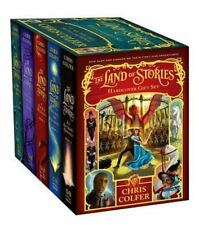 The Land of Stories Hardcover Gift Set by Chris Colfer [Hardcover] BRAND NEW