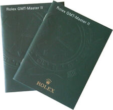 Authentic Rolex GMT Master II Instructions Manual Booklet in English - Pick 1