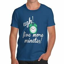 Twisted Envy Five More Minutes Men's Funny T-Shirt