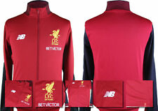 17 / 18 - NEW BALANCE LIVERPOOL RED PRESENTATION JACKET = ADULTS SIZE*