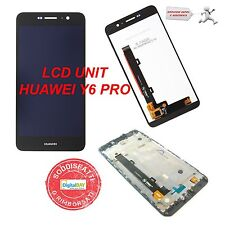 RICAMBIO LCD DISPLAY + TOUCH SCREEN UNIT NERO PER HUAWEI Y6 PRO + KIT
