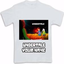 Personalised Printed Undertale Kids T Shirt Sublimated ages 3 to 13 Frisk Sans