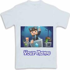 Personalised Printed Dan TDM  Kids T Shirt Sublimated ages 3 to 13 Youtube