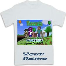 Personalised  Terraria Inspired Kids T Shirt Sublimated ages 3 to 13
