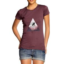 Twisted Envy Great American Eagle Landscape Women's Funny T-Shirt