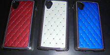 for google nexus 5 e980 D820 D821 hard case diamond cover with silver border
