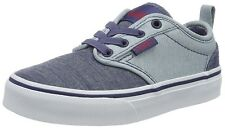 SCARPE VANS ATWOOD SLIP-ON, CHAMBRAY BLUES, SNEAKER, CASUAL, SKATE, RAGAZZO