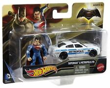 Batman vs Superman amanecer de la Justicia HOT WHEELS COCHES Y FIGURAS