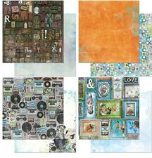 """BoBunny Life In Color Double-Sided Cardstock 12""""X12"""" verschied. Motive 30,5x30,5"""