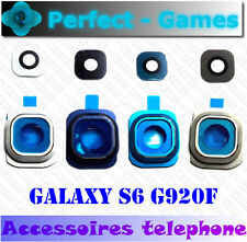 Samsung galaxy S6 G920F rear camera glass lens cover vitre glace camera arrière