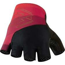 Madison 77 RoadRace Fingerless Cycle Cycling Mitts Gloves - Ruby Red - SALE!
