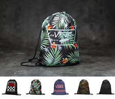 sacca zaino vans backpack coulisse uomo donna nero palme bench league borsa 2017