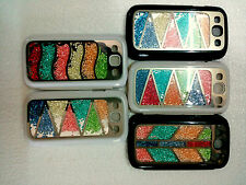 for samsung galaxy s3 i9300 s3 neo i9300i flip case cover crystal filled folio
