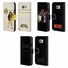 OFFICIAL AC/DC ACDC ALBUM COVER LEATHER BOOK WALLET CASE FOR SAMSUNG PHONES 1