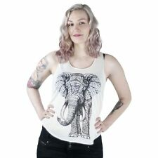 Innocent Lifestyle Mammoth Vest Top Off White