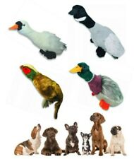 Migrators Empty Nesters Dog Puppy Toy with Squeakers Squeaking Toy No Stuffing Pheasant