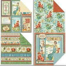 "Graphic45 Home Sweet Home Double-Sided Cardstock 12"" doppels.Scrappapier 30,5 cm"