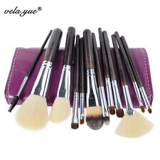 Professional Soft Hair Makeup Brushes Set High Quality Cosmetic Kit with Case