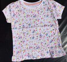 Baby Girls Short Sleeve T Shirt with Floral / Bees detail