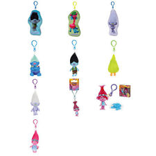 Trolls 3D Key Rings & Bag Clips (Assorted)