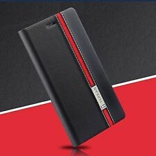 Tarkan Dual-Color Leather Flip Back Cover with Card Slot For HTC Desire 828