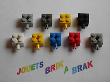 Lego briques brick 2x2 modifié pin axle hole tenon choose color ref 6232 4730