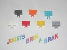 Lego briques brick de 1x2 2x1 modifié pince clip choose color ref 30237b