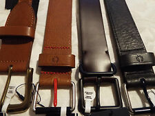 BNWT Fred Perry Leather Belts choice of 3 NEW