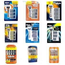 Gillette Fusion Pro-glide Pack Plus Razor+ manual Blade And More 100% Real