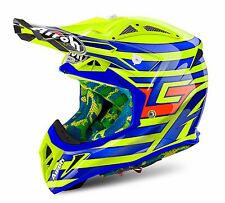 AIROH AVIATOR 2.2 CAIROLI QATAR GIALLO MOTOCROSS MX ENDURO OFF-ROAD MOTO CASCO