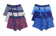Boys Boxers Trunks Underwear Shorts Pants 3 Pack 2-13 Years Children Kids.