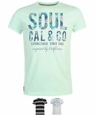NEW SoulCal Large Logo T Shirt Mens 59957791