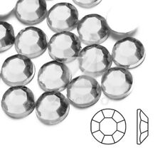 1000 SS4-SS46 Flat Back Strass Appartement Ongles Nail Art Manucure Blanc PA
