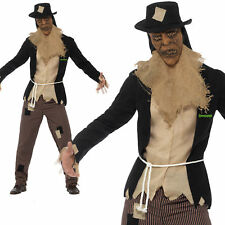 Goosebumps The Scarecrow Costume Licensed Mens Halloween Fancy Dress New