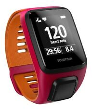 TomTom Runner 3 Cardio GPS Uhr - Pink-Orange