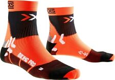 X-Socks Radsocke Biking Pro Mid Orange - X020370-O037
